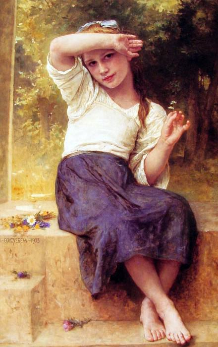 daisy, Adolphe William Bouguereau