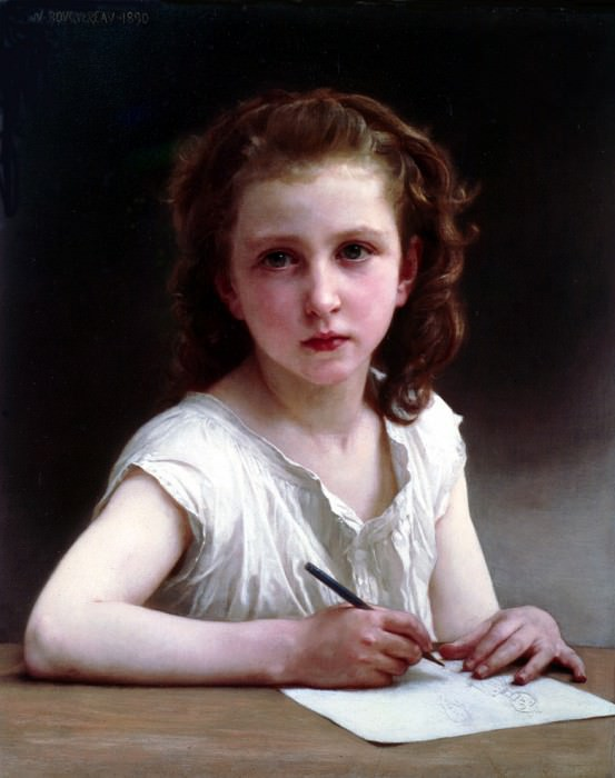 A Vocation, Adolphe William Bouguereau