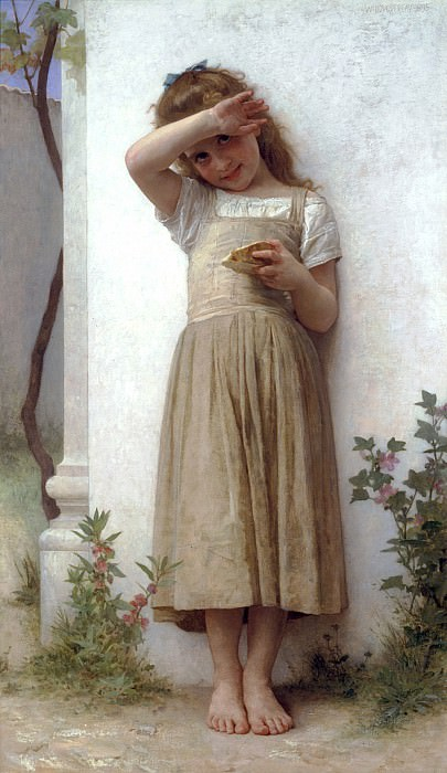 In Penitence, Adolphe William Bouguereau