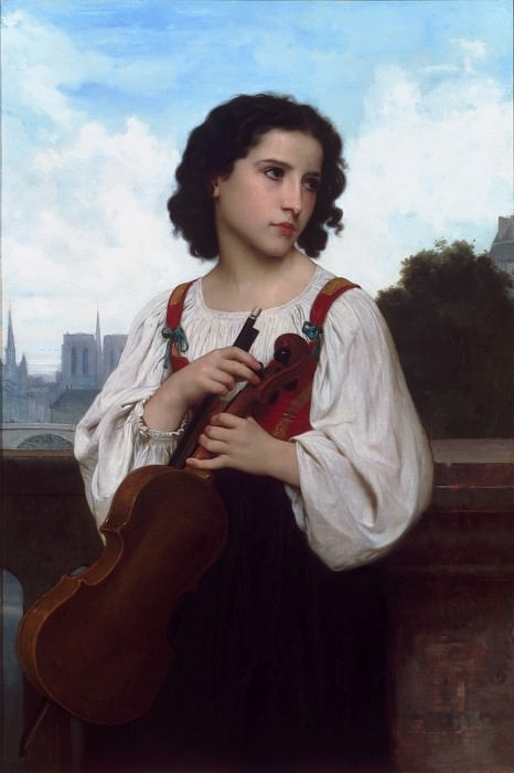 Alone in the world, Adolphe William Bouguereau