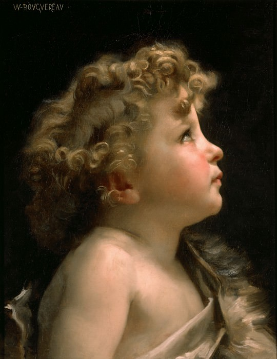 Young John the Baptist, Adolphe William Bouguereau