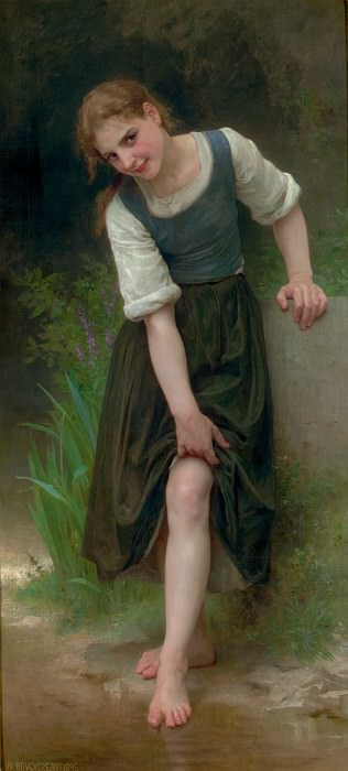 La Gue, Adolphe William Bouguereau