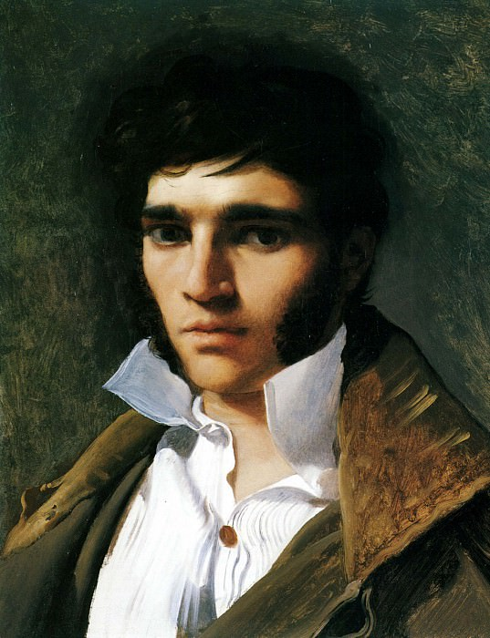 Portrait of the Sculptor Paul Lemoyne, Jean Auguste Dominique Ingres