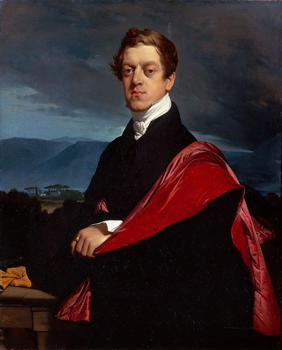 Count Nikolai Dmitrievich Gouriev, Jean Auguste Dominique Ingres