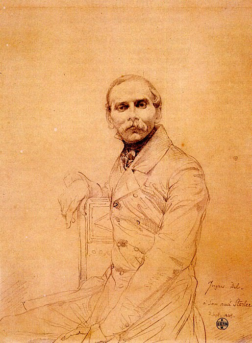 Ingres Franz Adolf von Stuerler, Jean Auguste Dominique Ingres