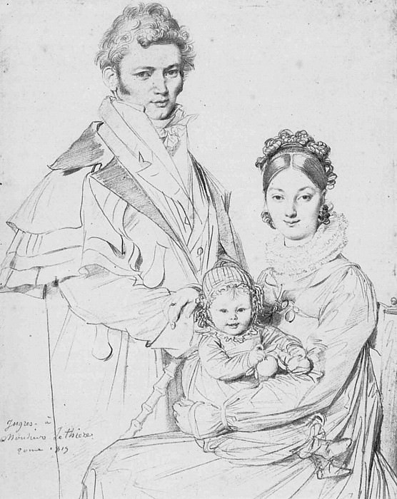 Ingres The Alexandre Lethiere Family, Jean Auguste Dominique Ingres