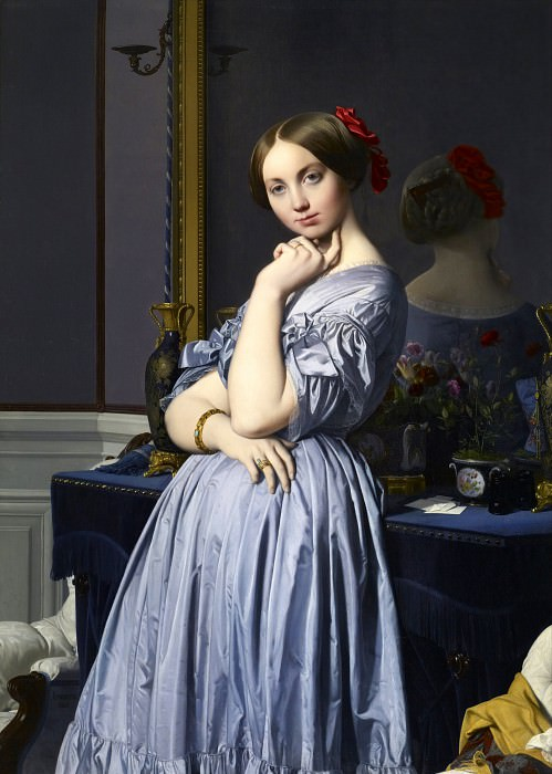 Countess DHaussonville, Jean Auguste Dominique Ingres