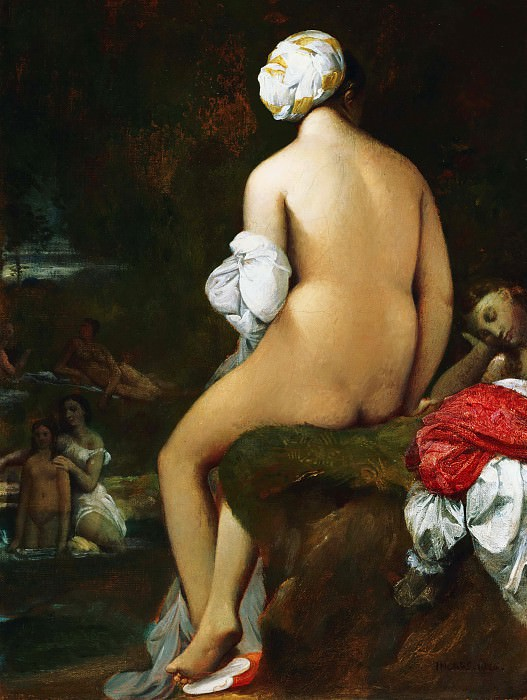 The Small Bather, Jean Auguste Dominique Ingres