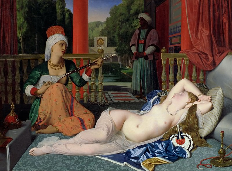 Odalisque with Slave, Jean Auguste Dominique Ingres