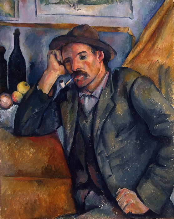 Smoker, Paul Cezanne