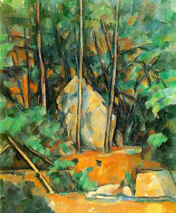 The Cistern in the Park at Chateau Noir, Paul Cezanne