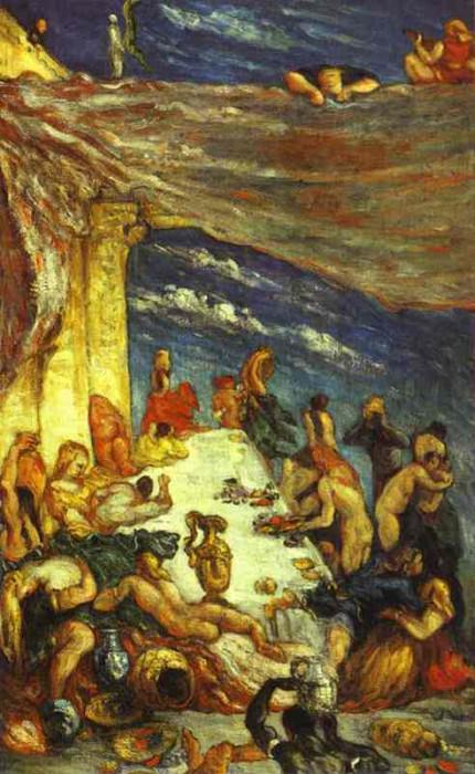 The Banquet, Paul Cezanne