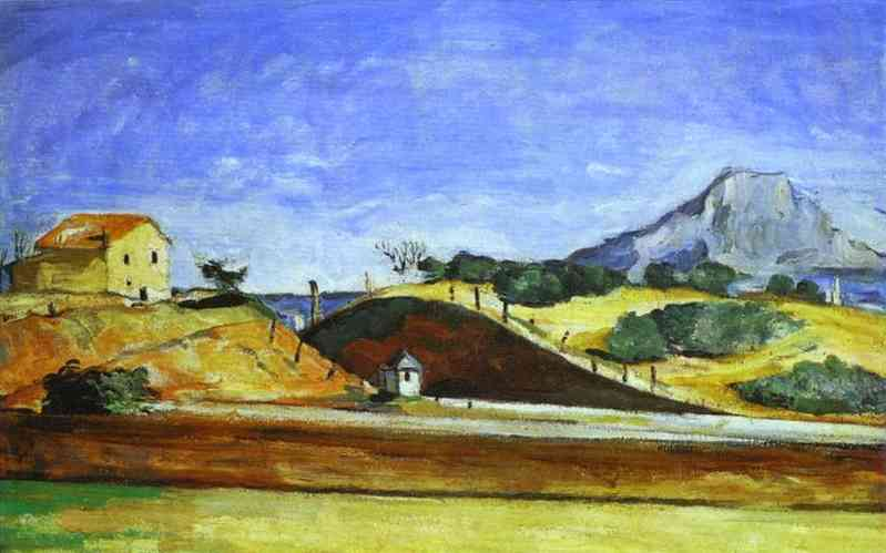 The Railway Cutting, Paul Cezanne