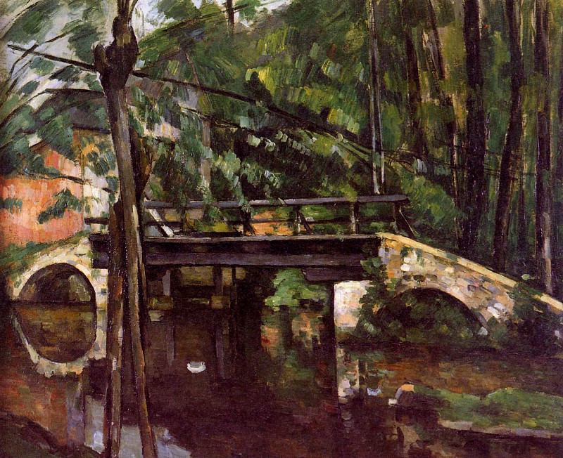 The bridge of Maincy , Paul Cezanne