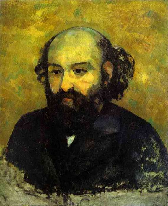 Self-portrait Hermitage, Paul Cezanne