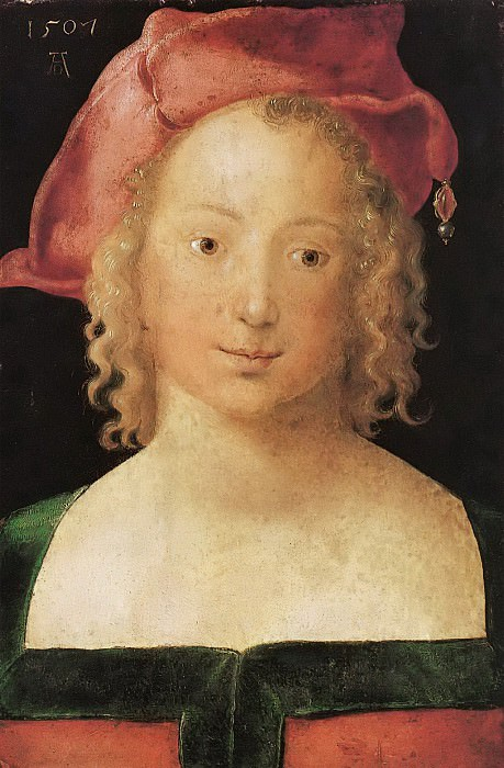 Portrait of a Young Girl, Albrecht Dürer