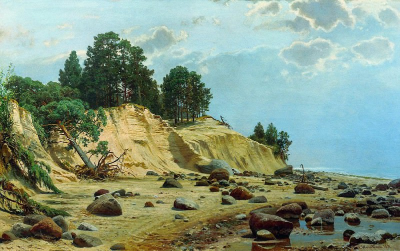 After the storm. Mary Hovey 1891, Ivan Ivanovich Shishkin