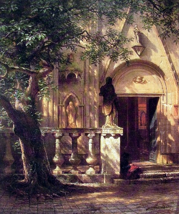 Sunlight and Shadow, Albert Bierstadt