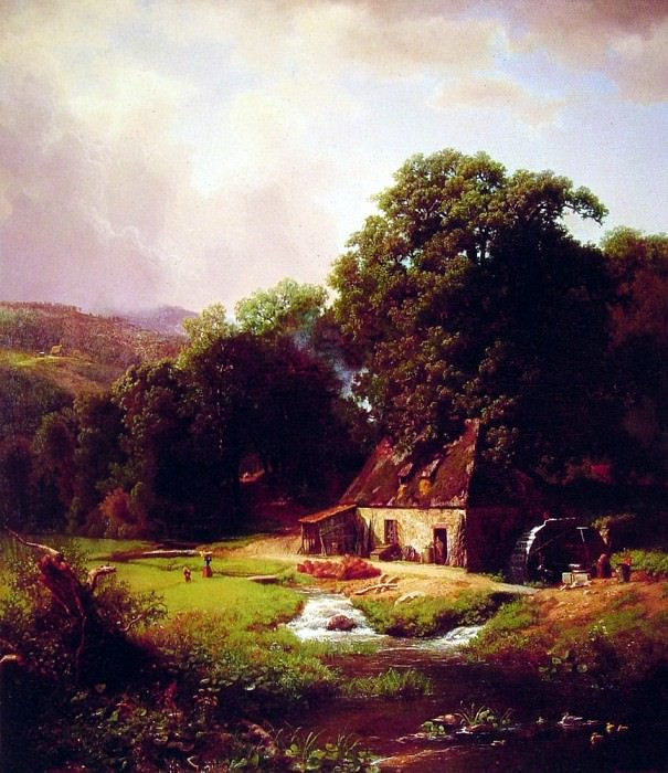 The Old Mill, Albert Bierstadt