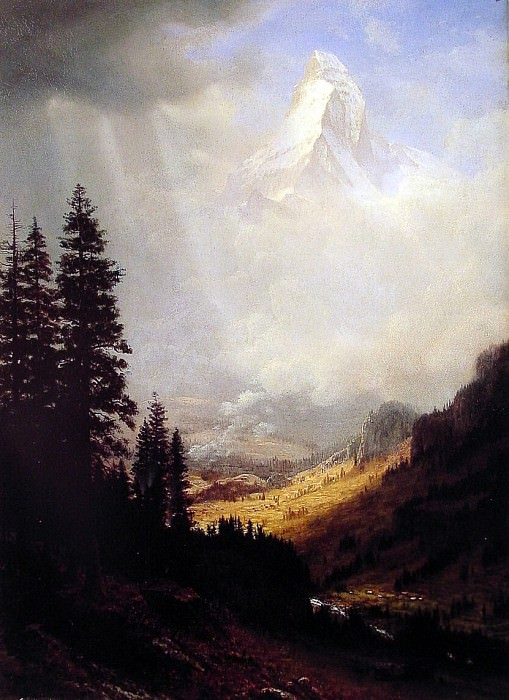 The Matterhorn, Albert Bierstadt