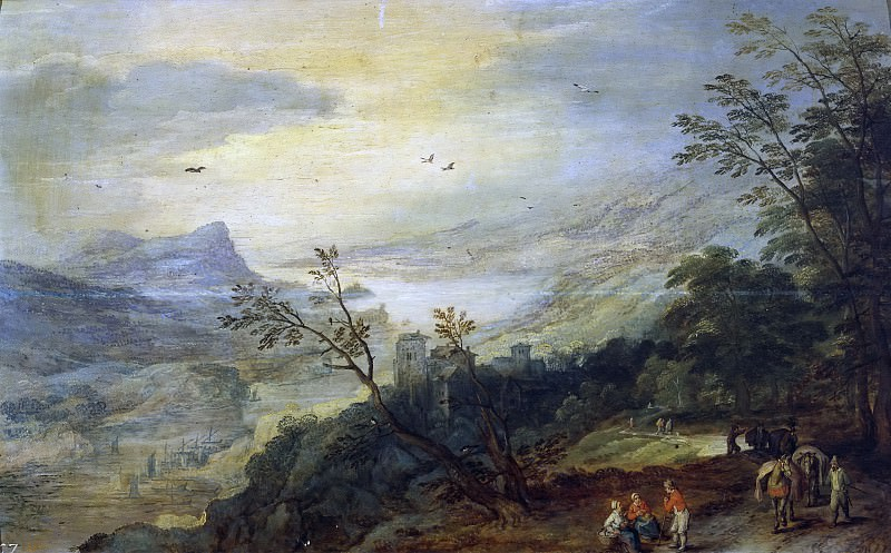 Paisaje, Jan Brueghel The Elder