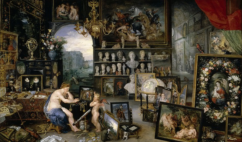 Sight, Jan Brueghel The Elder