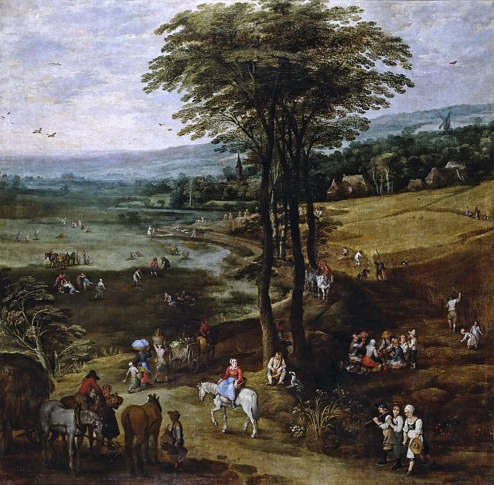 La vida en el campo, Jan Brueghel The Elder