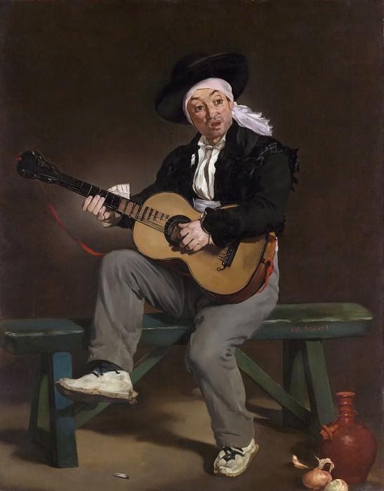 The Spanish Singer, Édouard Manet
