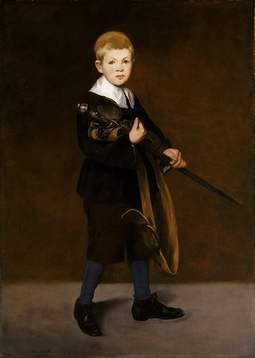 Boy with a Sword, Édouard Manet