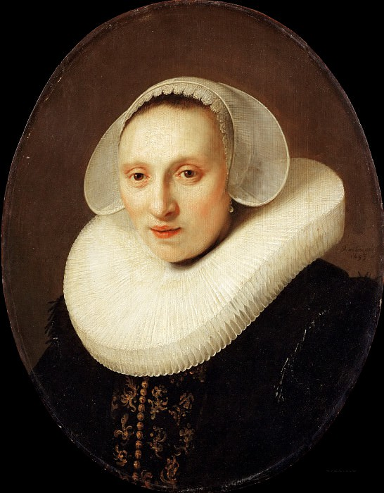 Cornelia Pronck, Wife of Albert Cuyper after, Rembrandt Harmenszoon Van Rijn