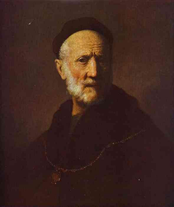 Portrait of an old man, Rembrandt Harmenszoon Van Rijn