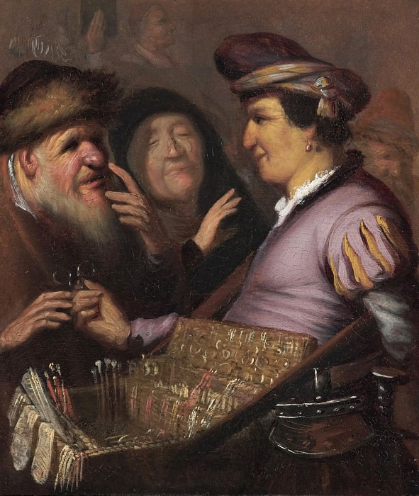 Spectacles Seller Allegory of Sight, Rembrandt Harmenszoon Van Rijn