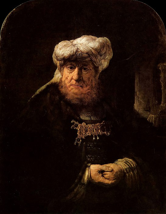 The King Uzziah Stricken with Leprosy, Rembrandt Harmenszoon Van Rijn