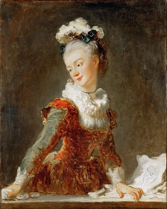 Marie-Madeleine Guimard 1743-1816, prima ballerina of the Paris Opera, Jean Honore Fragonard