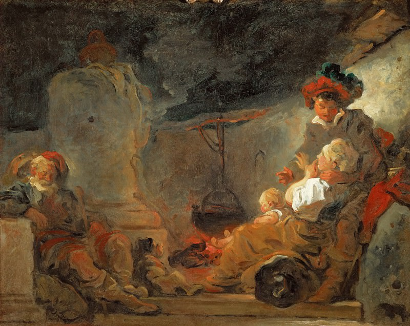 The beggars dream, Jean Honore Fragonard