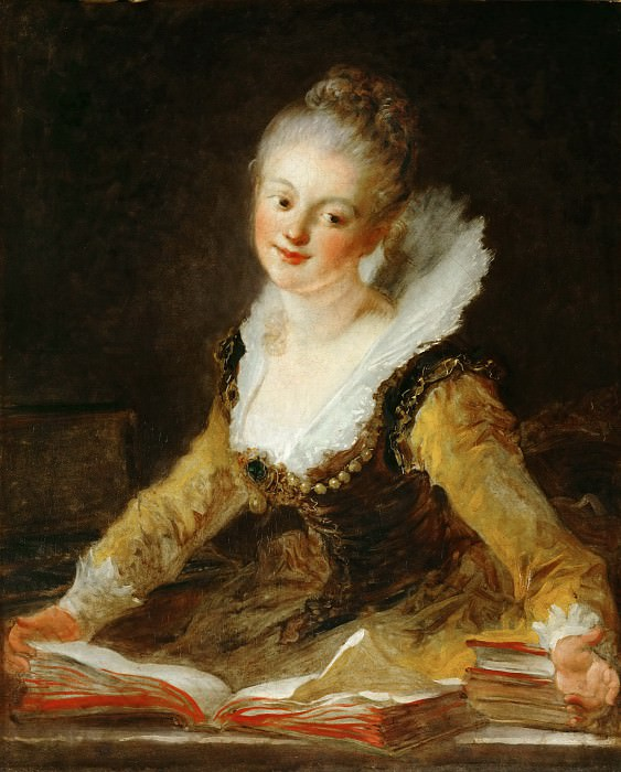 learning, Jean Honore Fragonard